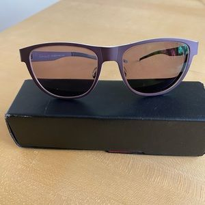 Entourage E7 titanium eye glass frames
